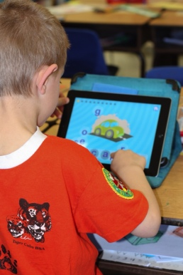 iPads in Kindergarten