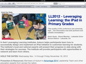 Auburn's Leveraging Learning Institute
