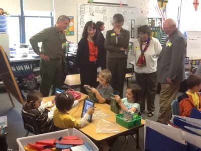 State Board of Ed visits an Auburn Classroom