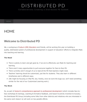 Distributed PD Website