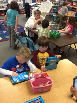 Auburn's iPads in primary grades